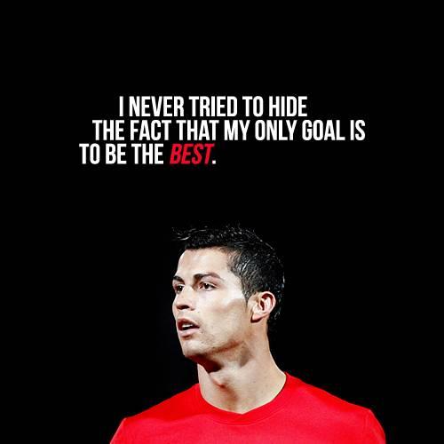 Cristiano Ronaldo's quote