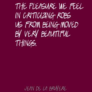 Criticizing quote #1