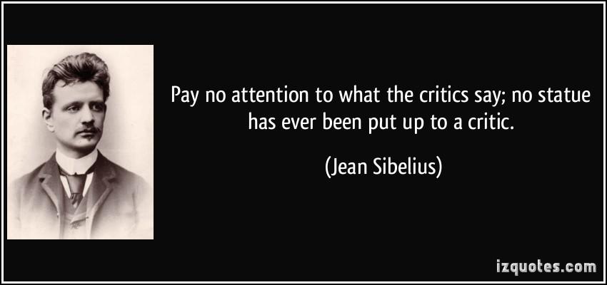 Critics quote #5