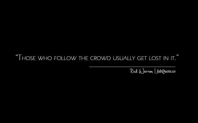 Crowd quote #6