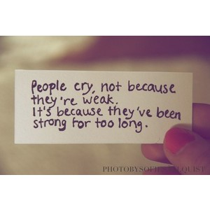 Cry quote #2