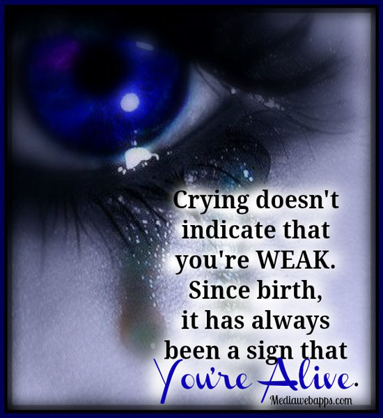 Crying quote #4