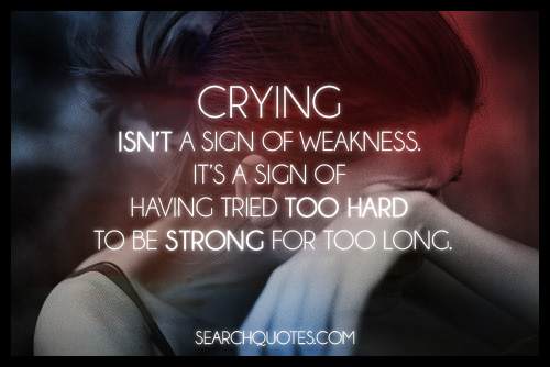 Crying quote #5