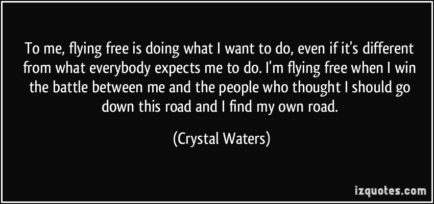 Crystal Waters's quote