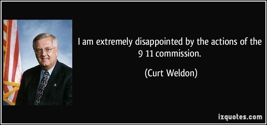 Curt Weldon's quote