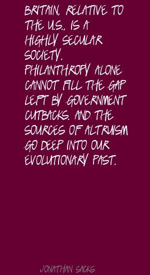Cutbacks quote #2