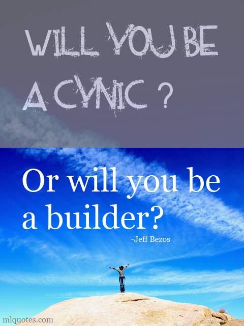 Cynic quote #3