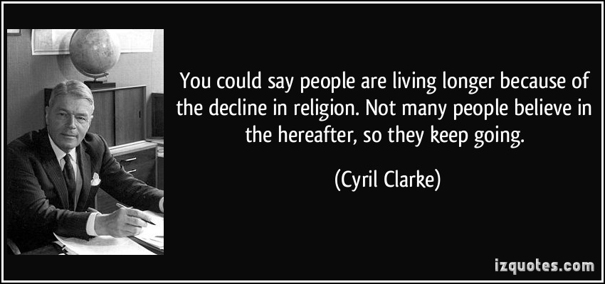Cyril Clarke's quote #1