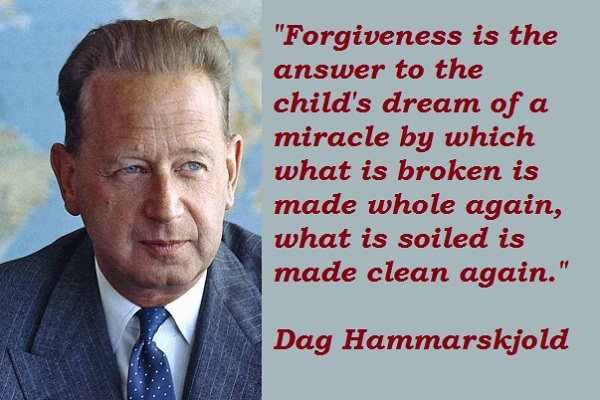 Dag Hammarskjold's quote #4