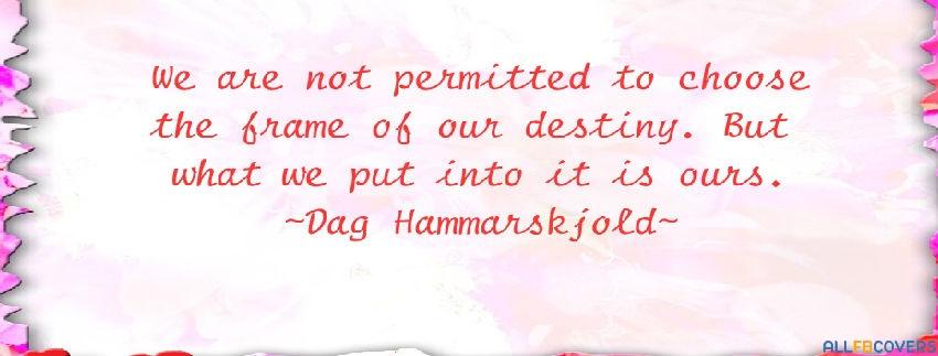 Dag Hammarskjold's quote #6