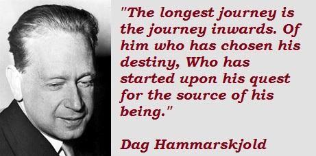 Dag Hammarskjold's quote #2