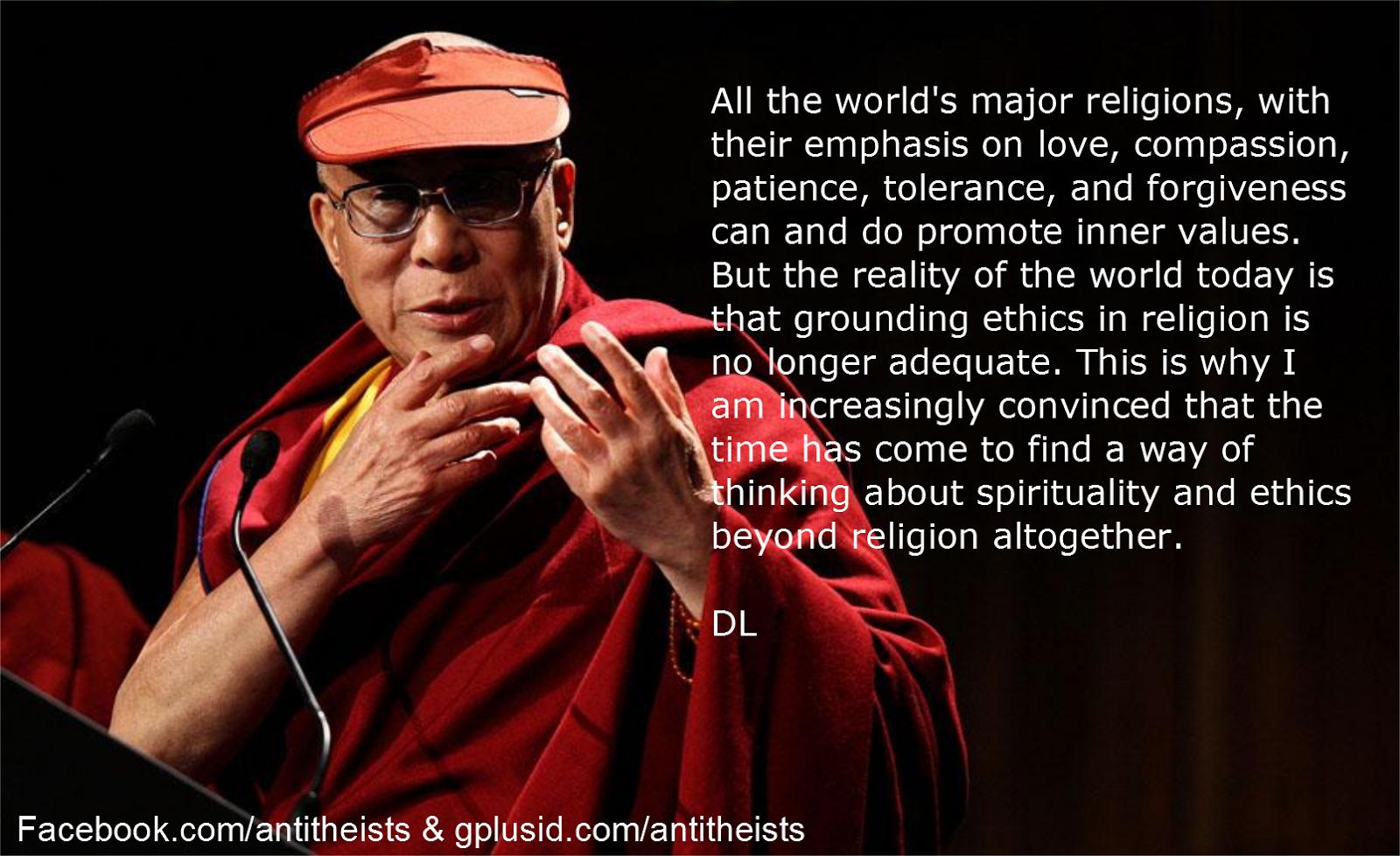 Dalai Lama quote #1