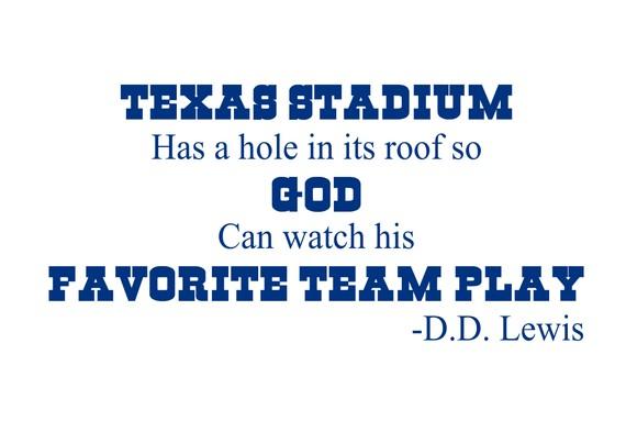 Dallas Cowboys quote #2