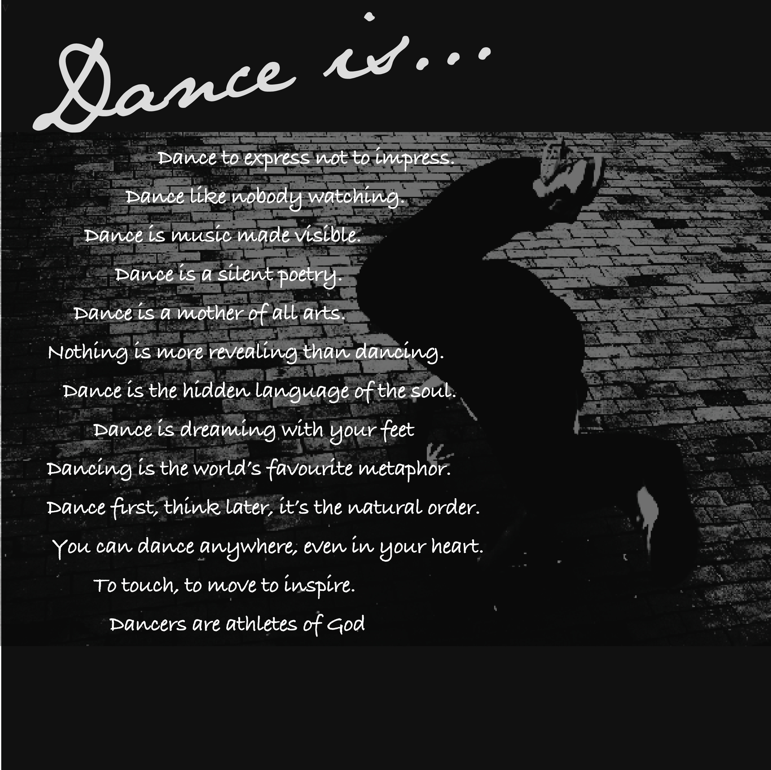 Dancers quote #3