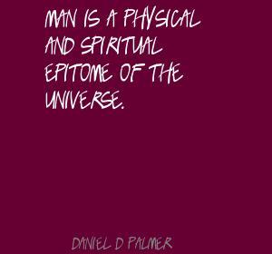 Daniel D. Palmer's quote #4