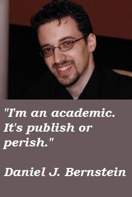 Daniel J. Bernstein's quote #2
