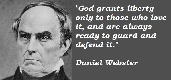 Daniel Webster's quote #7