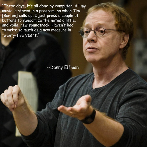 Danny Elfman's quote #3