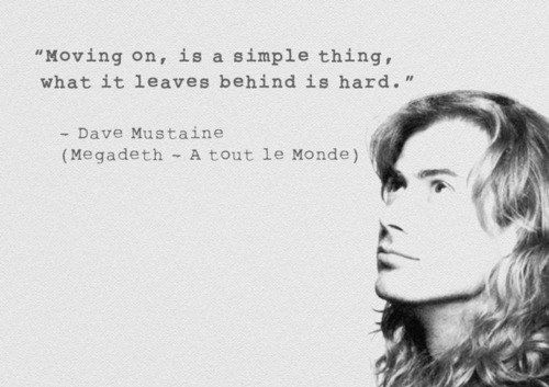 Dave Mustaine's quote