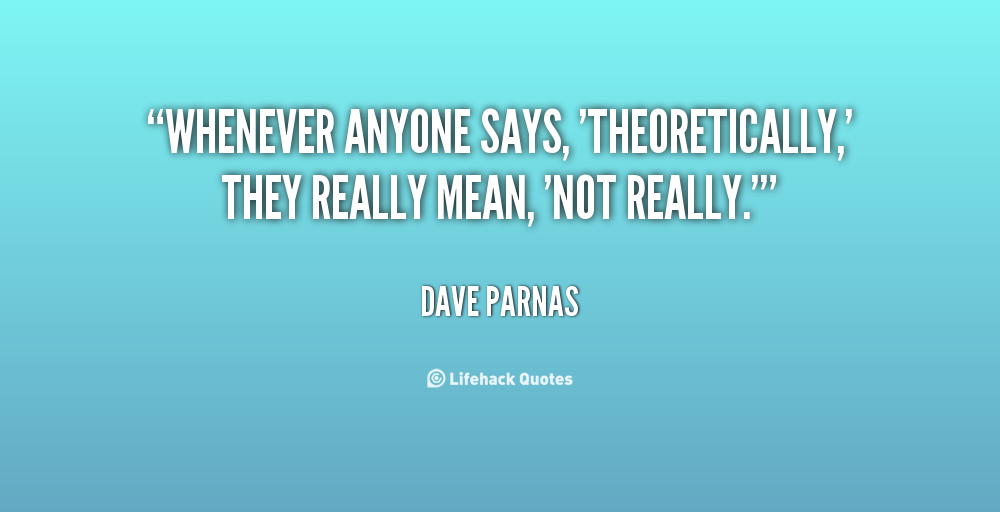 Dave Parnas's quote #2