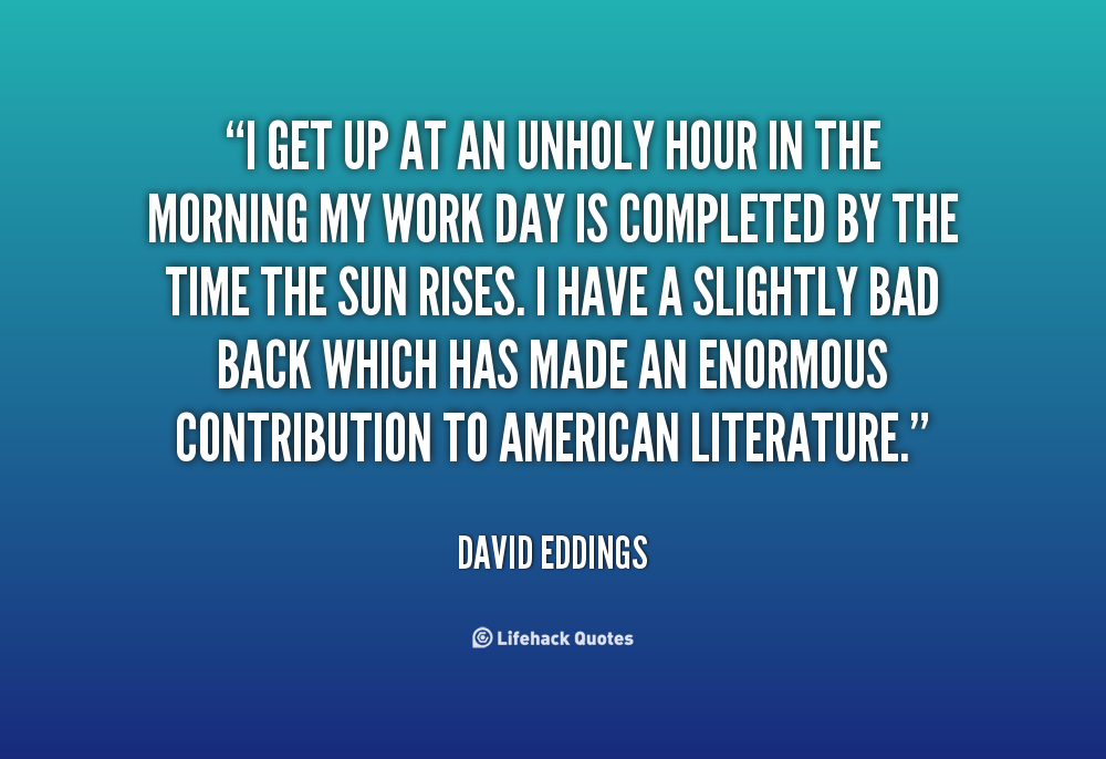 David Eddings's quote
