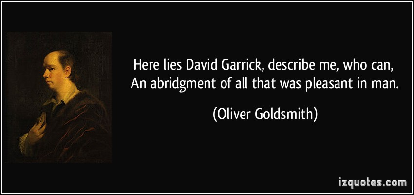 David Garrick's quote #1