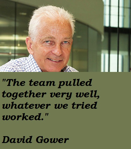 David Gower's quote