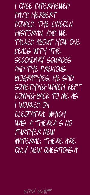 David Herbert Donald's quote #1