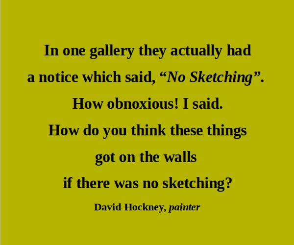 David Hockney's quote #1
