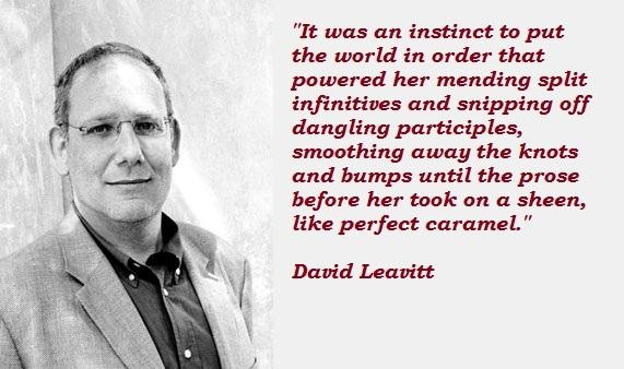 David Leavitt's quote #1