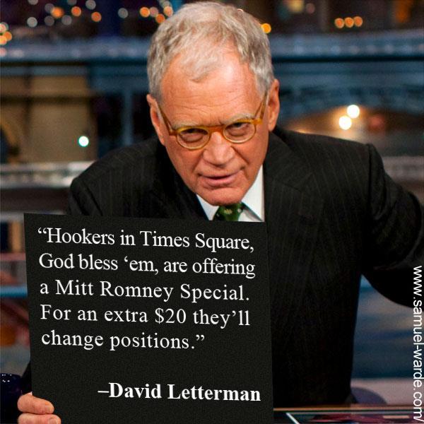 David Letterman quote #1