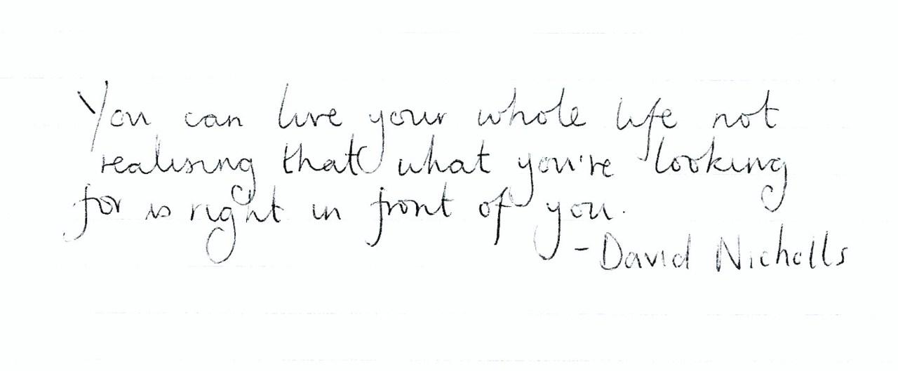 David Nicholls's quote #7