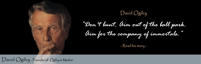 David Ogilvy's quote #8