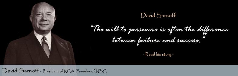 David Sarnoff's quote #2