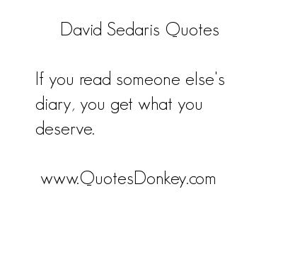 David Sedaris's quote #7