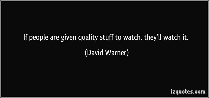 David Warner's quote #1