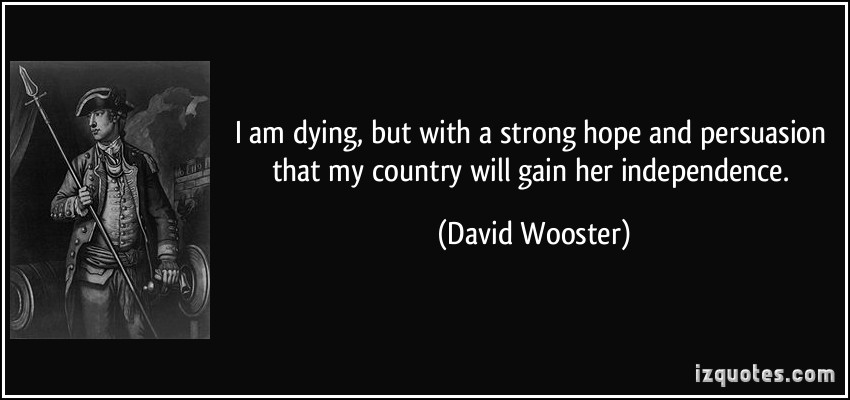 David Wooster's quote