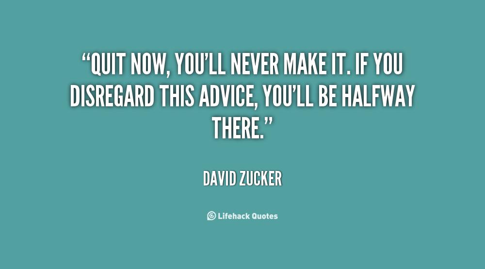 David Zucker's quote