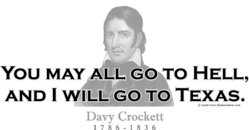 Davy Crockett's quote #1