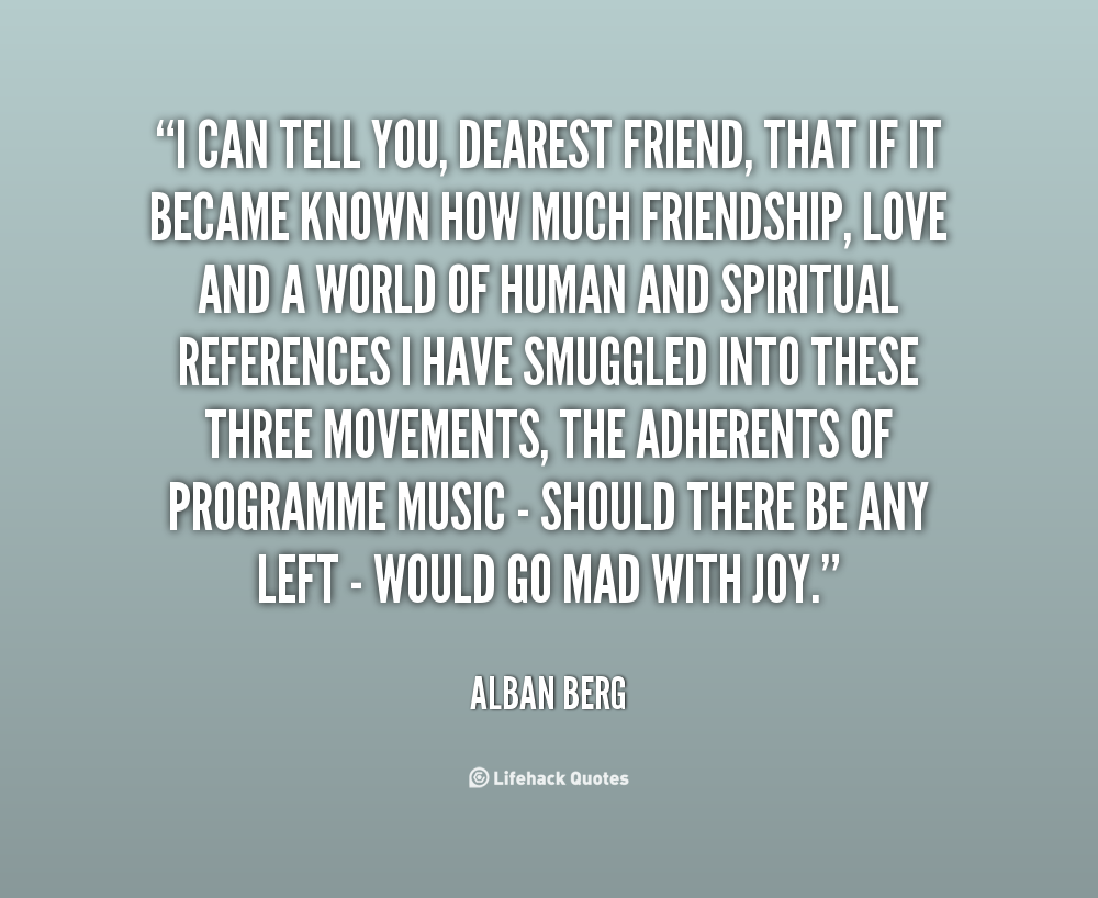 Dearest quote #1