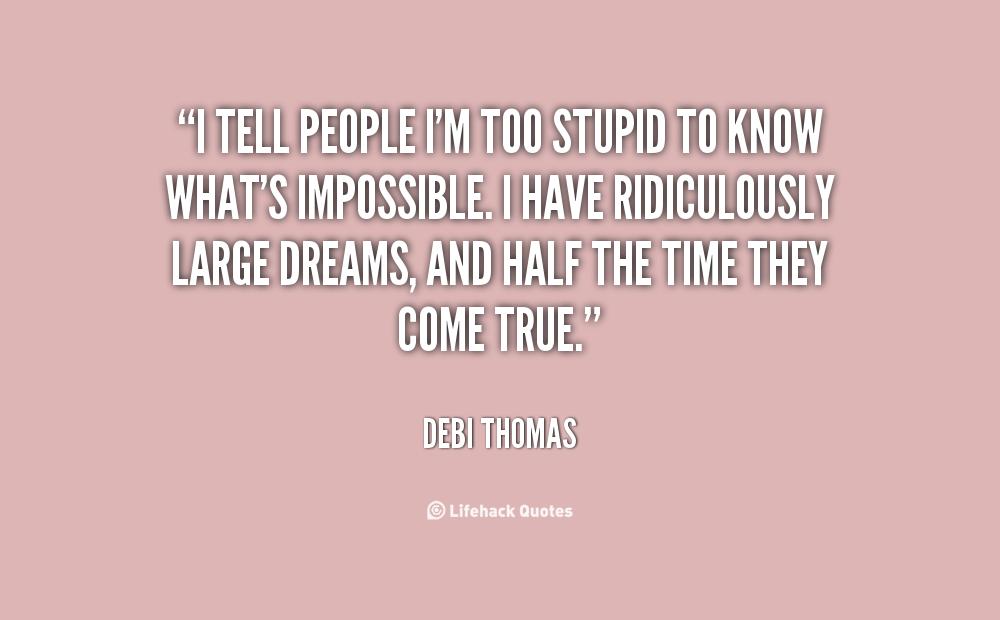 Debi Thomas's quote #5