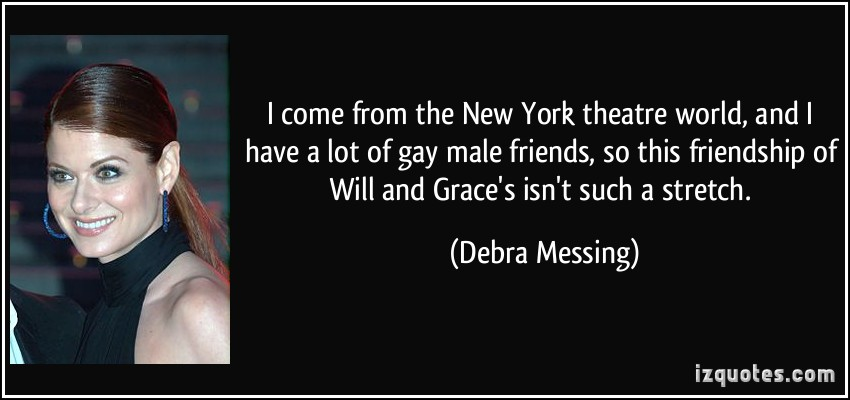 Debra Messing's quote