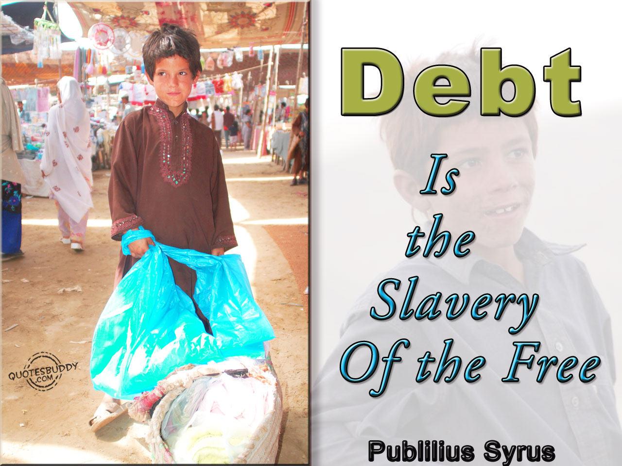 Debt quote #1