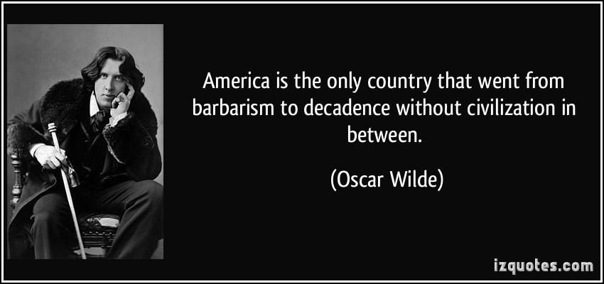 Decadence quote #1