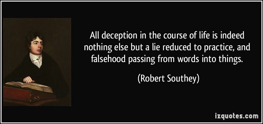 Deception quote #1