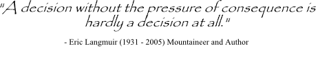 Decision-Making Process quote #2
