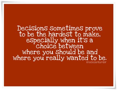Decisions quote #2