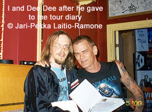 Dee Dee Ramone's quote #6