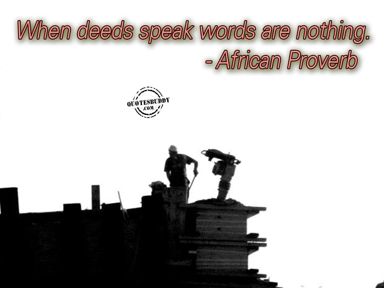 Deeds quote #7