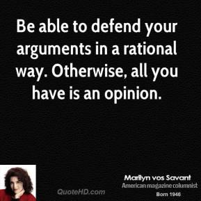 Defend quote #4